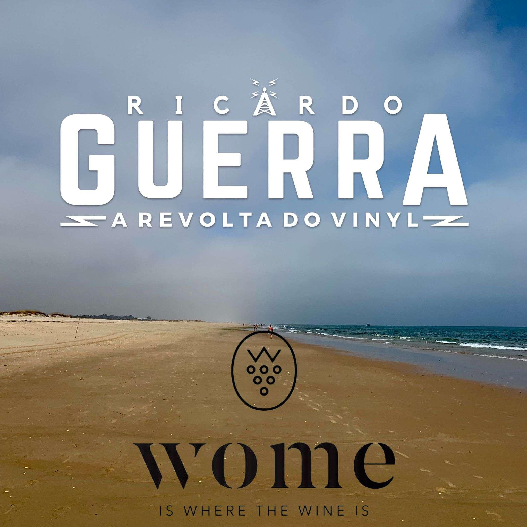 Desta vez juntaram-se a Revolta do Vinyl do Ricardo Guerra e a WOME BOX do Filipe Rebelo, para ouvir no Spotify e acompanhar um vinho de verão