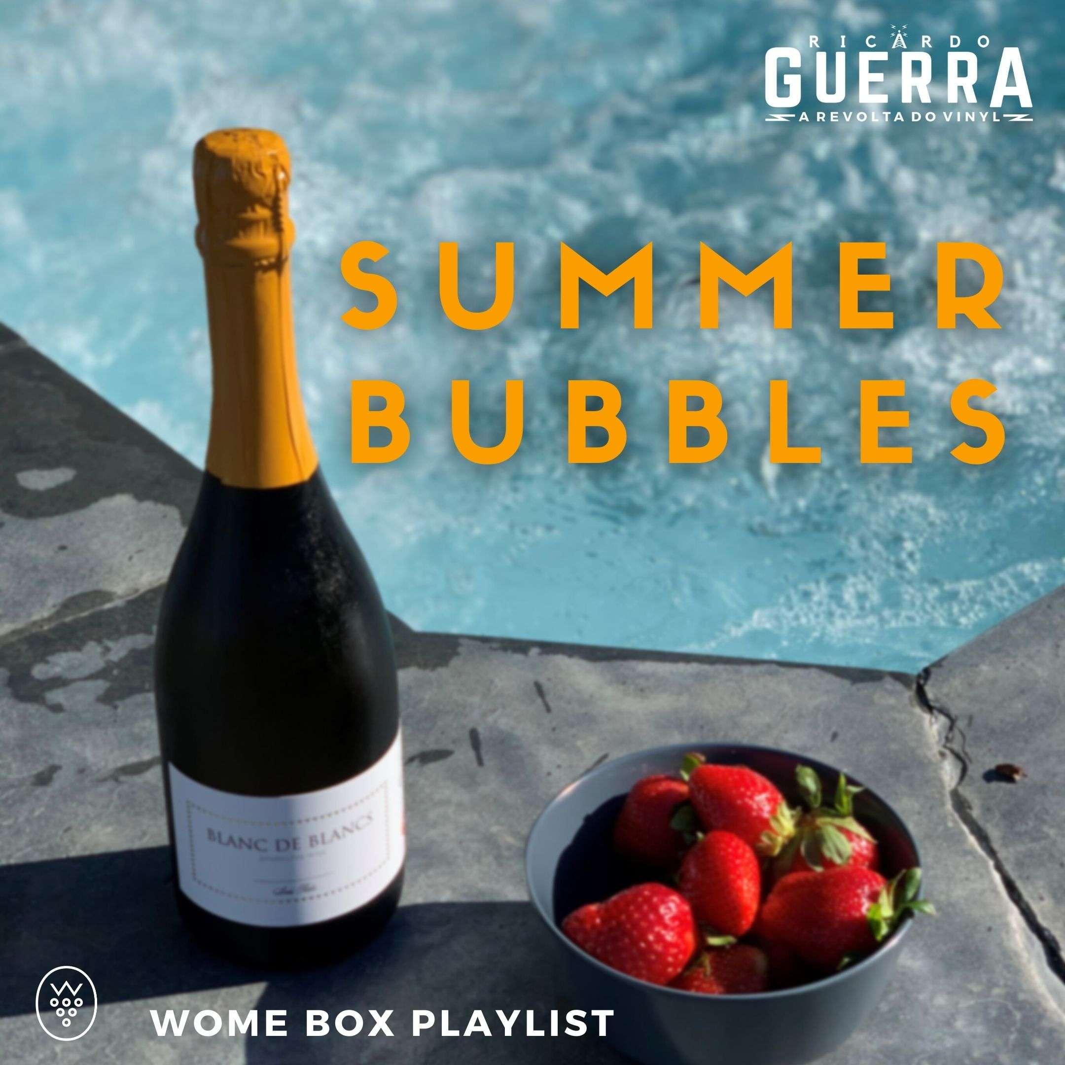 verão espumante com a playlist do Ricardo Guerra para a WOMEBOX